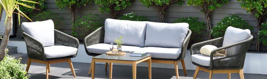 Charme sofa set, wcsh 8909, Select table 67x67cm, 42h, ALU DGRY, ROP DGRY 4R, FSCP LOT, WDRS DGRY, PN67649C, PN67650C, PN68085C